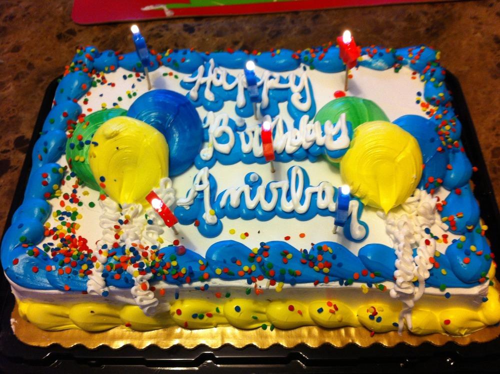 My Birthday Cake Anirban C Misra